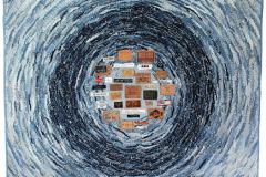 """Seinatekstiil """"Mood ja prügi"""" 2008"""